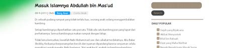 Cerita Anak Islam (Bang Aswi)