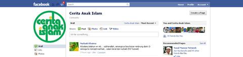 Fanpage Cerita Anak Islam