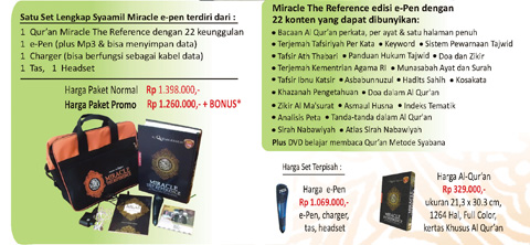 Syaamil Miracle E-Pen