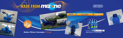 Made from Mizone