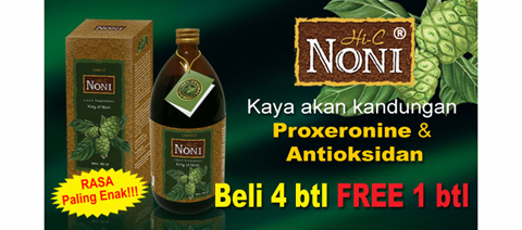 Mengkudu ala Noni (Morinda citrifolia)