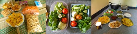 Menu Sarapan dan Makan Siang