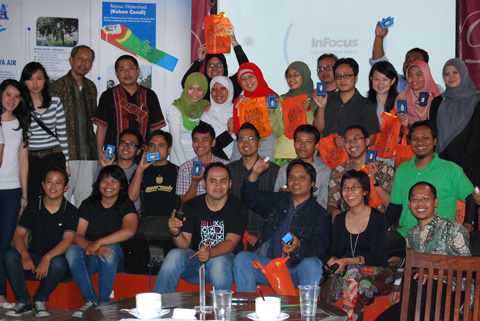 Blogger Bandung di Dacosta Cafe