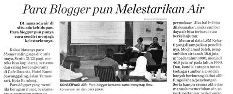 Koran Inilah tentang Blogger