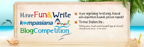 Ancol Blog Competition