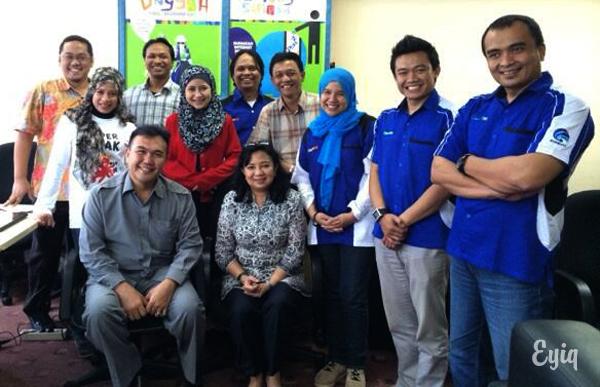 Relawan TIK Bandung bersama Jajaran Kemkominfo