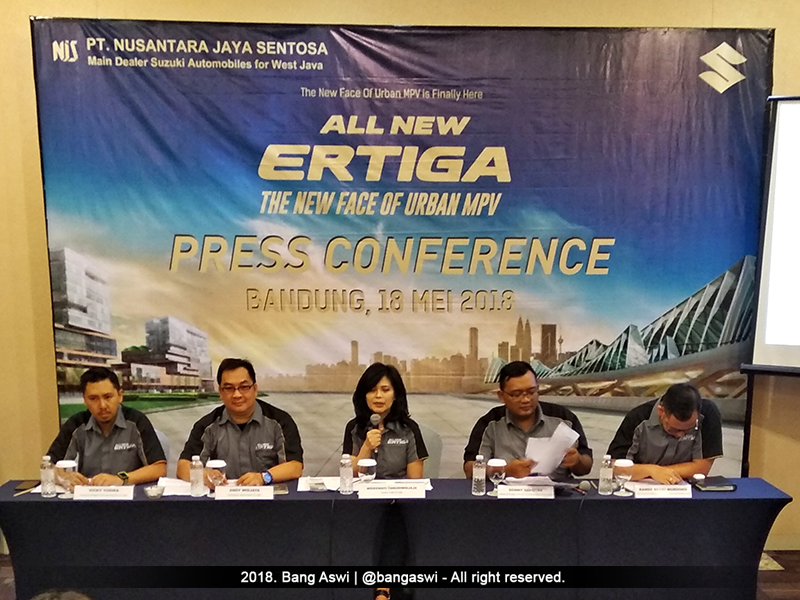 Press Conference All New Ertiga