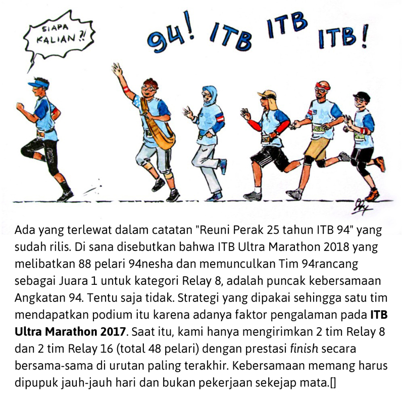 ITB Ultra Marathon
