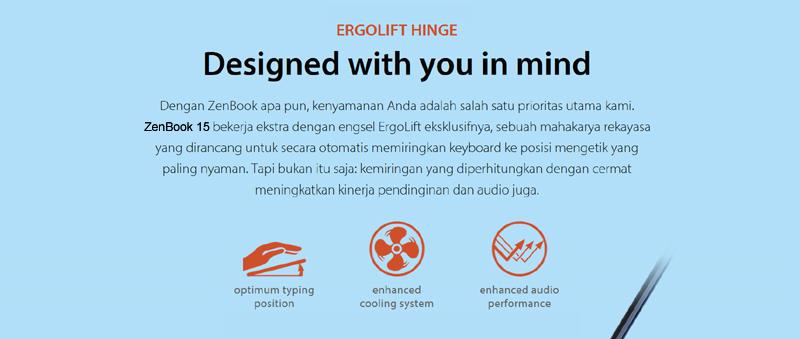 Desain Zenbook
